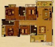 世纪金郡4室2厅3卫139平方米户型图