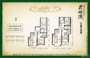 果岭湾3室2厅3卫227平方米户型图
