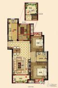 佳兆业西溪璞园3室2厅2卫0平方米户型图