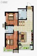 永邦天汇2室2厅1卫92平方米户型图