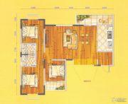 庄仪橡树湾3室2厅2卫133平方米户型图