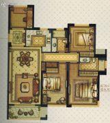 温州・奥体城4室2厅2卫108平方米户型图