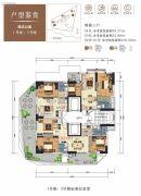 山海汇2室2厅2卫52--109平方米户型图