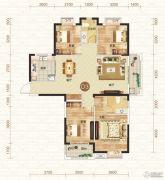 钓鱼台二期4室2厅2卫136平方米户型图