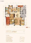 名门世家5室2厅6卫275平方米户型图