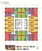 牡丹江万达广场1室1厅1卫0平方米户型图