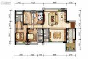 戛纳湾金棕榈4室3厅2卫155平方米户型图