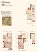 绿地华庭4室2厅3卫220平方米户型图