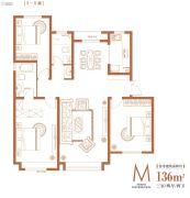 华润・中海・江城3室2厅2卫0平方米户型图