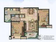 雅居乐・涟山2室2厅1卫83平方米户型图