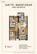 和平上东2室2厅1卫72--76平方米户型图