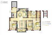 碧桂园幸福里4室2厅2卫125平方米户型图