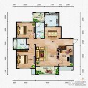芭东海城3室2厅2卫117--124平方米户型图