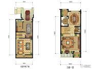 华升南山郡4室2厅4卫281平方米户型图
