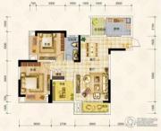 华宇上院0室0厅0卫79平方米户型图