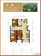 水钢琴3室2厅2卫127平方米户型图
