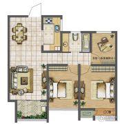 天润国际花园3室2厅1卫89平方米户型图