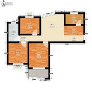捷恒・悦城3室0厅1卫78平方米户型图