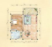 青云林海1室1厅1卫99--109平方米户型图