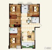中弘中央广场4室2厅2卫114--143平方米户型图