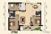 天合溪园3室2厅2卫119平方米户型图