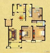 国华御翠园2室2厅1卫141--142平方米户型图