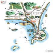 万科双月湾规划图