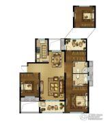 中建・锦绣珑湾 高层2室2厅2卫115平方米户型图