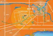 鑫月城交通图