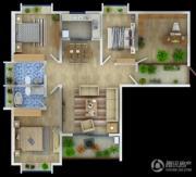 万辉星城4室2厅2卫0平方米户型图