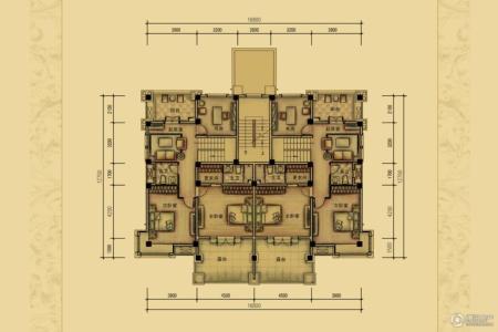 室内花园平面图