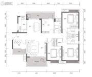 方直星耀国际5室2厅3卫166平方米户型图