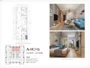 熊猫公馆1室1厅1卫31平方米户型图
