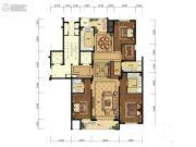 天都城・天熙公馆4室2厅1卫195平方米户型图