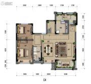 嘉裕第六洲3室2厅2卫154平方米户型图