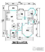 君尚一品小区二期2室2厅1卫114平方米户型图