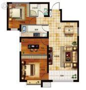 天昱・凤凰城3室2厅1卫94平方米户型图