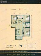 宏宇亚龙湾3室2厅1卫118平方米户型图