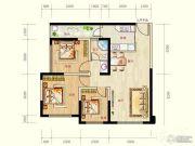 蓝光天娇城3室2厅1卫68平方米户型图