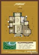 宏泰・尚阳城3室2厅2卫143平方米户型图