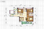 阳光西雅图3室2厅2卫116平方米户型图