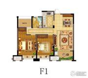 南通书香华府2室2厅1卫0平方米户型图