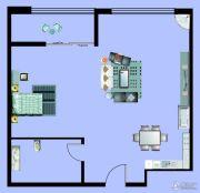 尚元公馆1室1厅1卫83平方米户型图