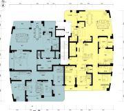 正大国际广场442--491平方米户型图