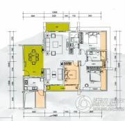 云顶澜山3室2厅2卫131平方米户型图