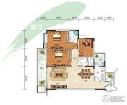 长阳清江山水・最山水3室2厅2卫148平方米户型图