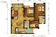 隆鑫十里画卷3室2厅2卫114平方米户型图