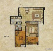 达安上品花园1室1厅1卫76平方米户型图