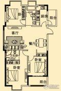 香溢花城3室2厅2卫135平方米户型图