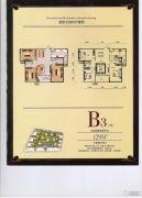 紫金城3室2厅2卫129平方米户型图